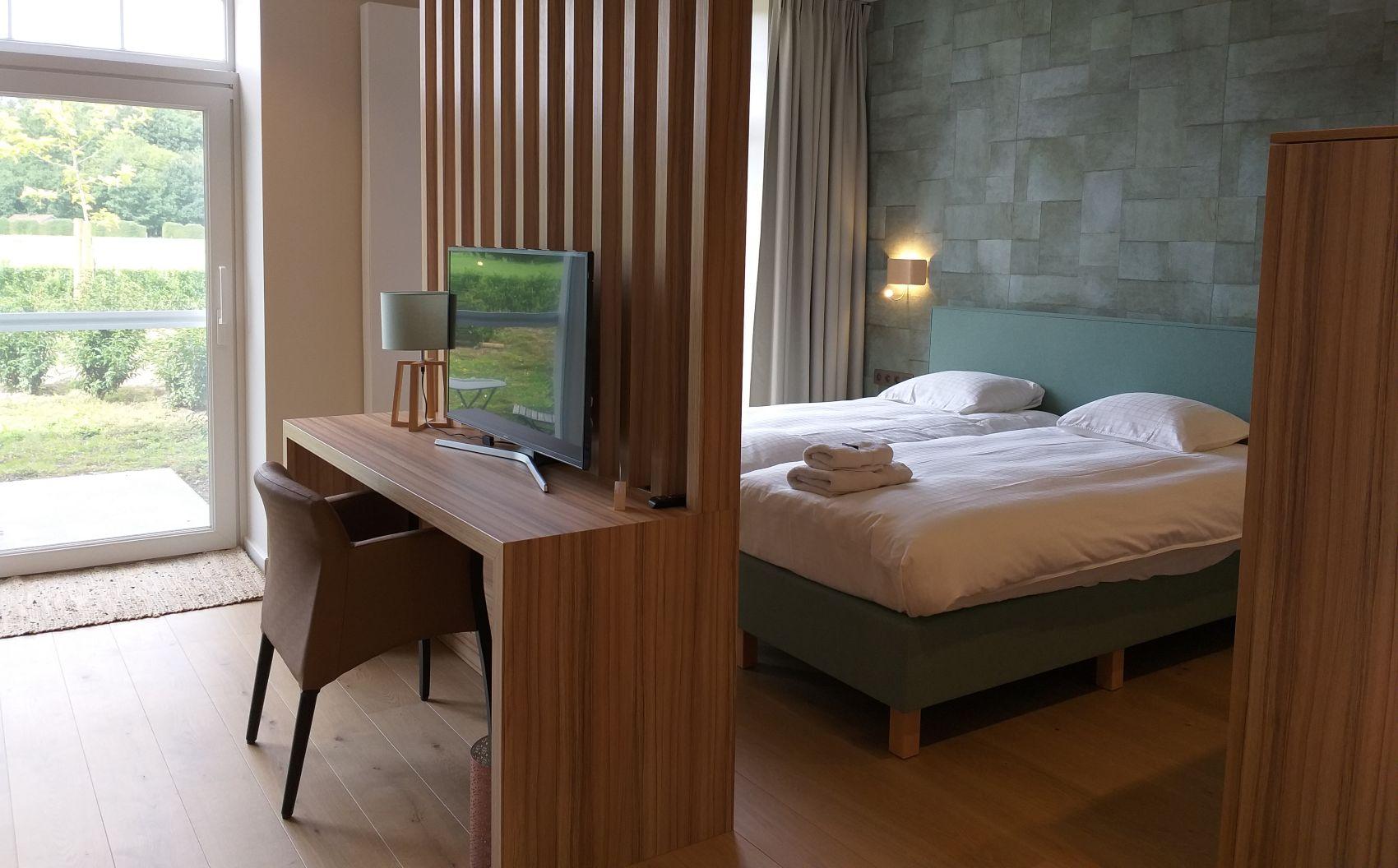Hotel B bossuite met sauna