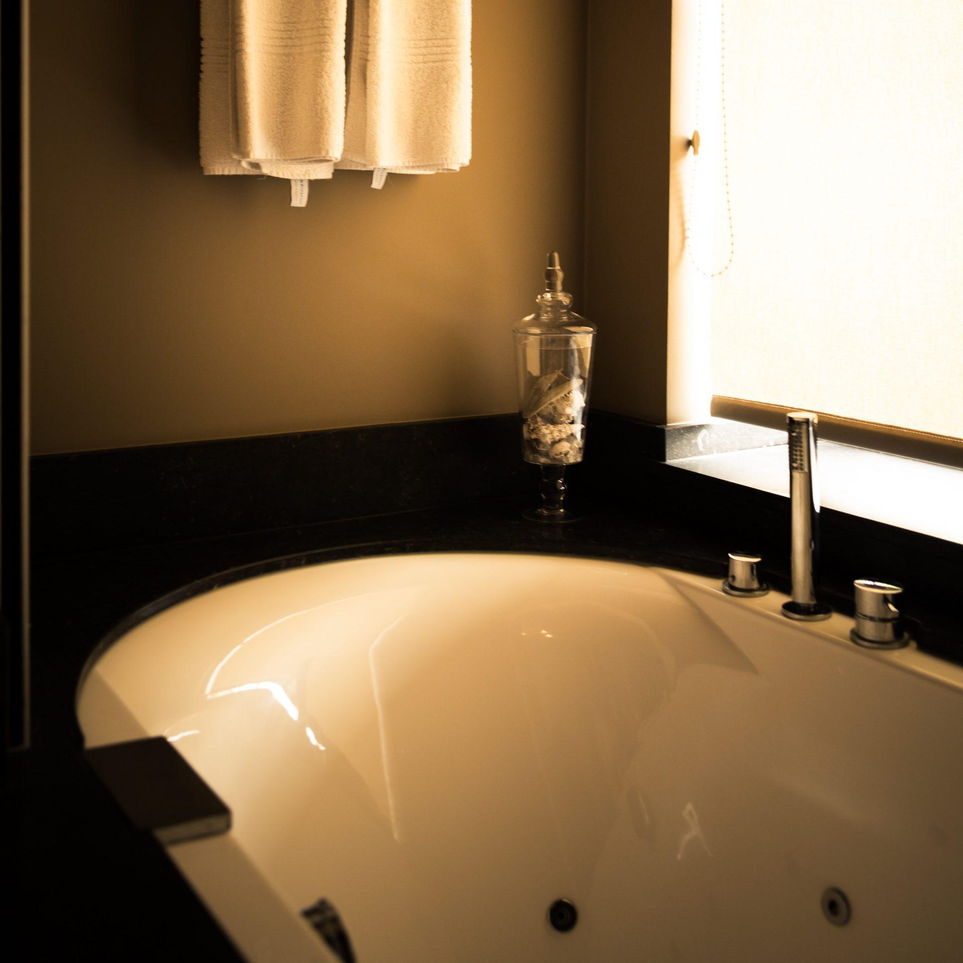 Deluxe met massagebad