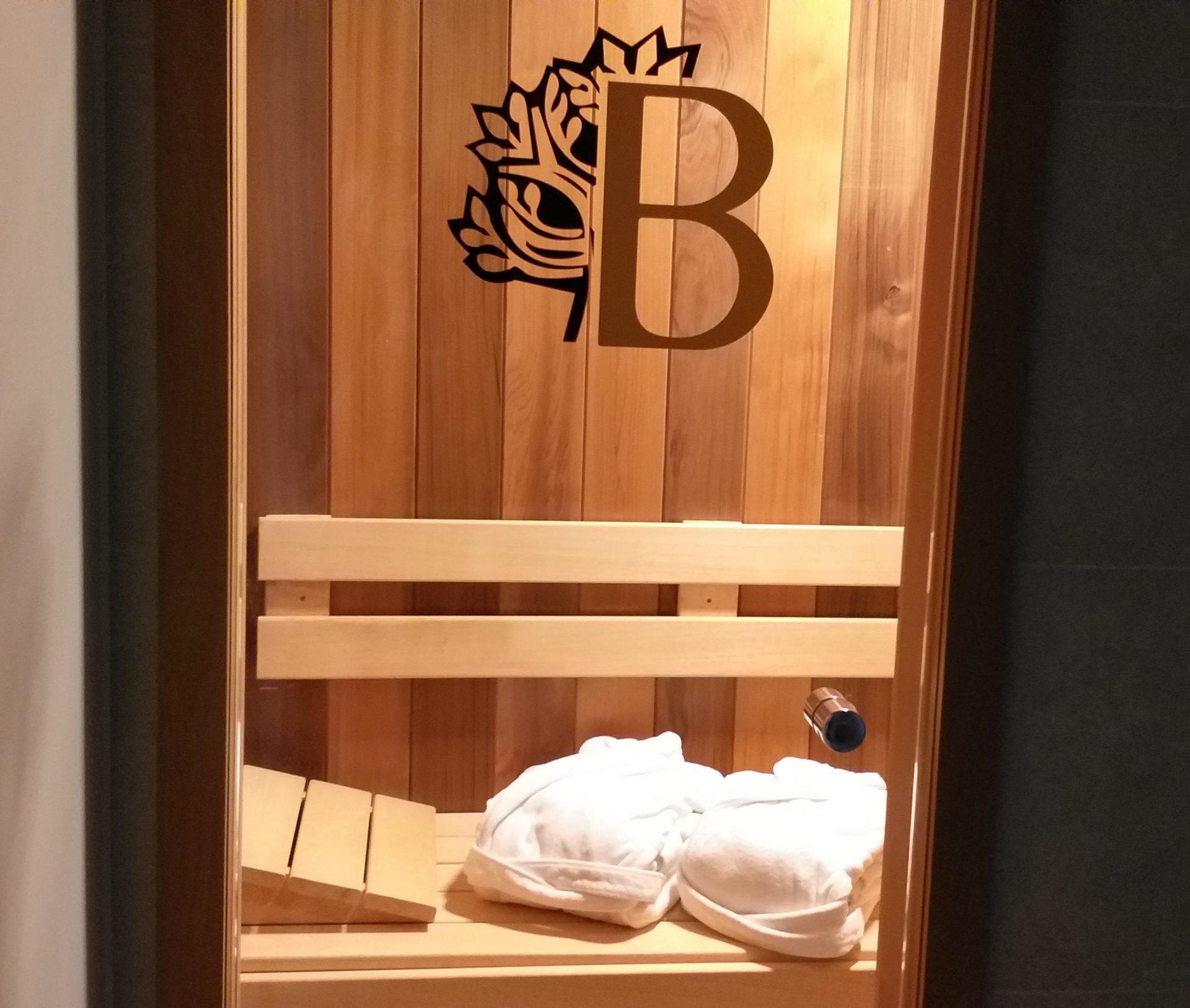 Bos-suite met sauna